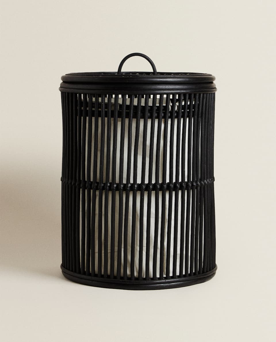 ROUND LAUNDRY BASKET WITH LID