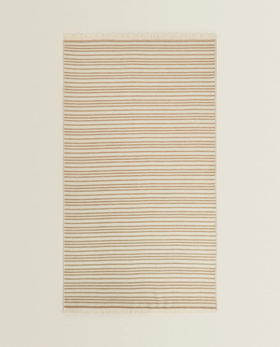 DOUBLE-SIDED BEACH TOWEL WITH STRIPES