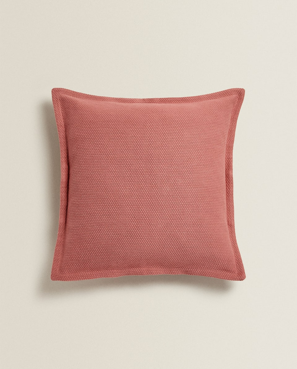 SMOCKED CUSHION COVER