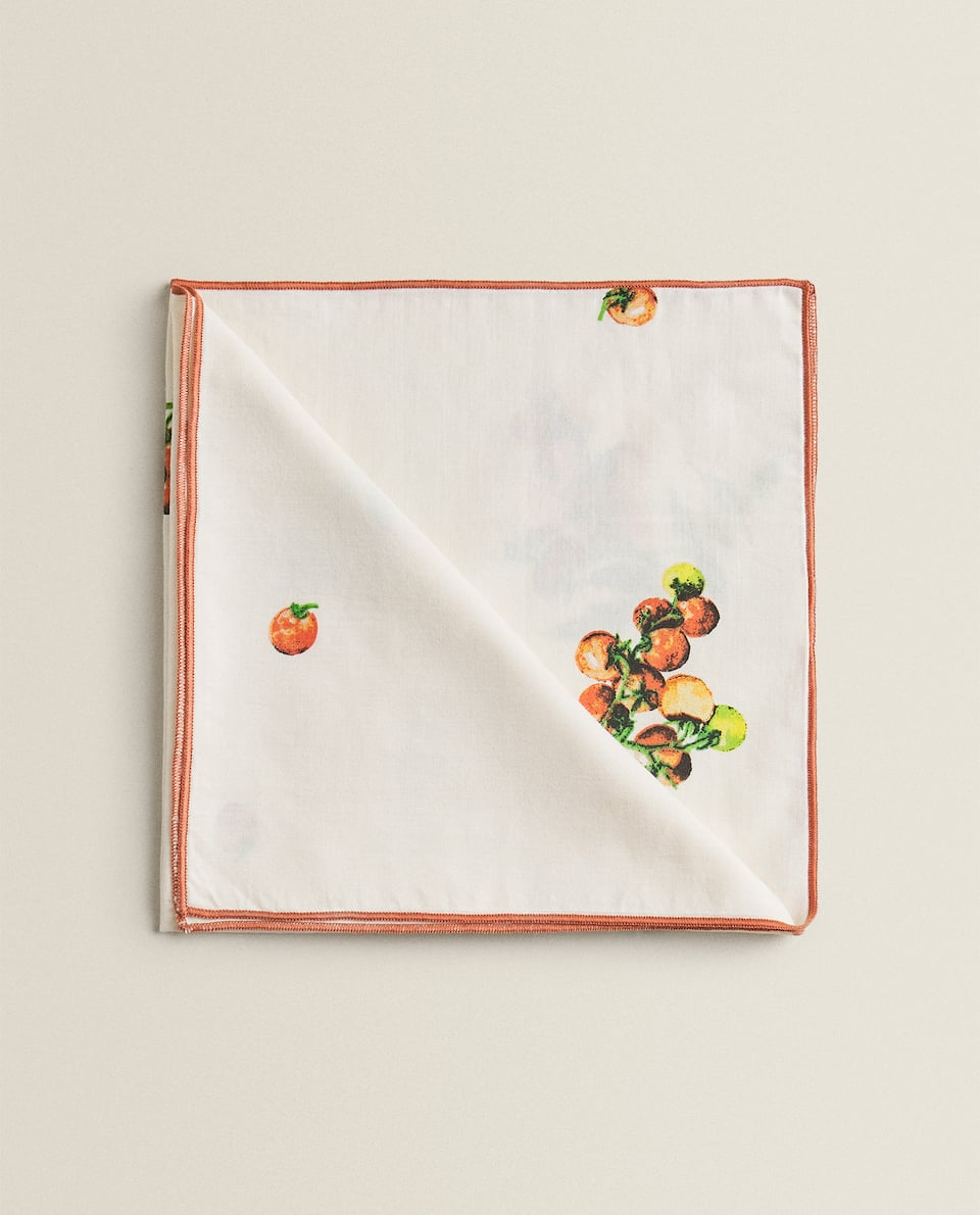 PRINTED COTTON NAPKINS (PACK OF 2)