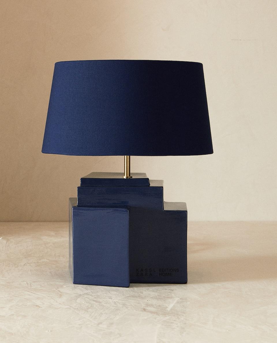 LAMPE I KERAMIK, KASSL EDITIONS ZARA HOME