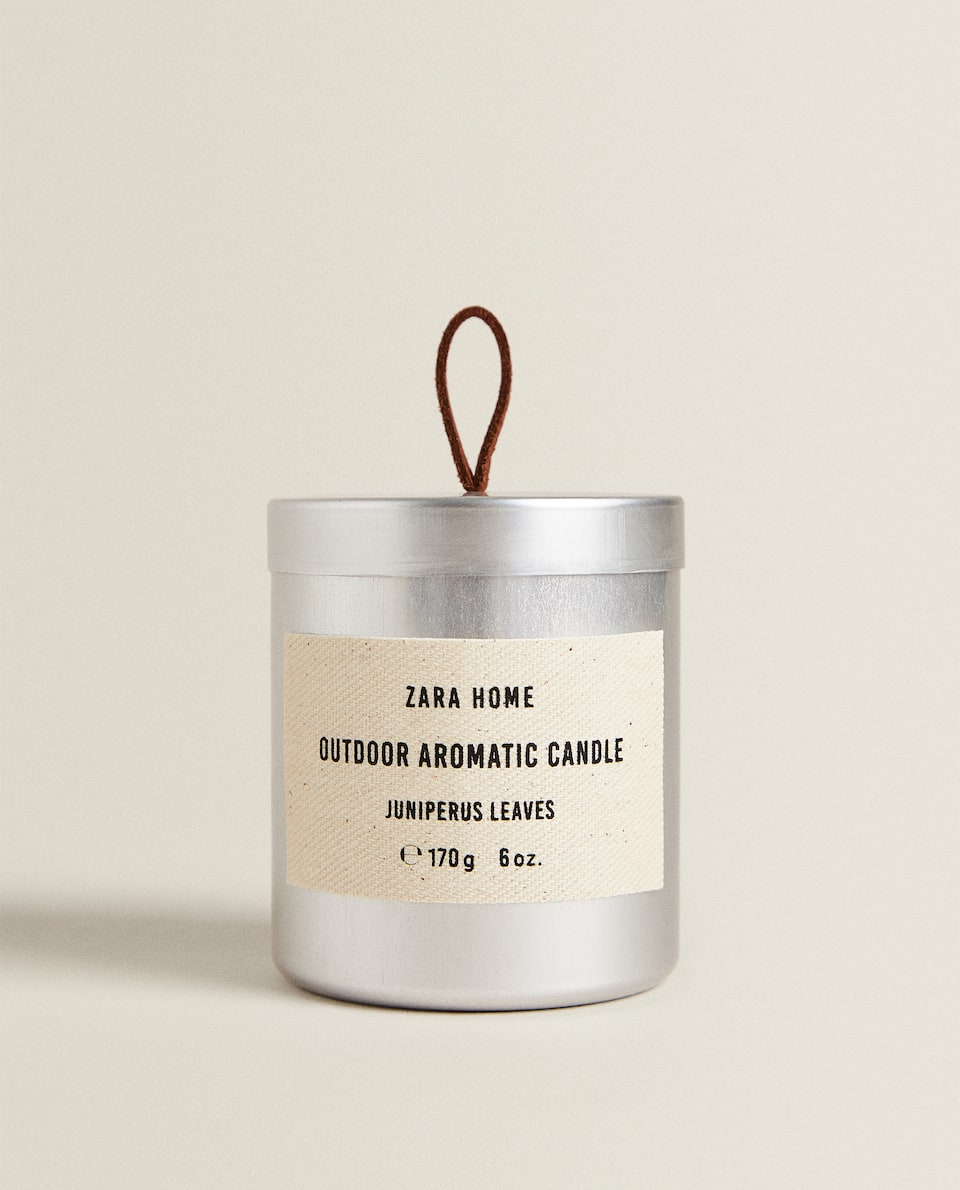 (170 GR) JUNIPER LEAF SCENTED CANDLE