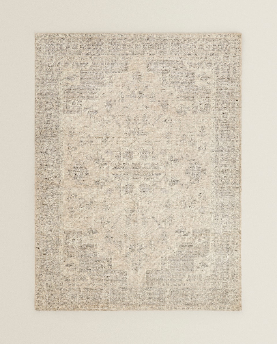 COTTON VISCOSE RUG