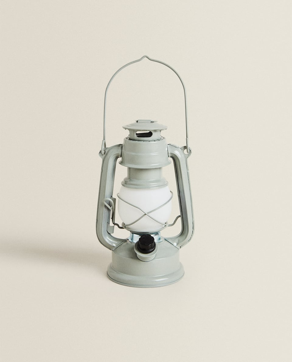 CHILDREN'S PORTABLE METAL LED LANTERN