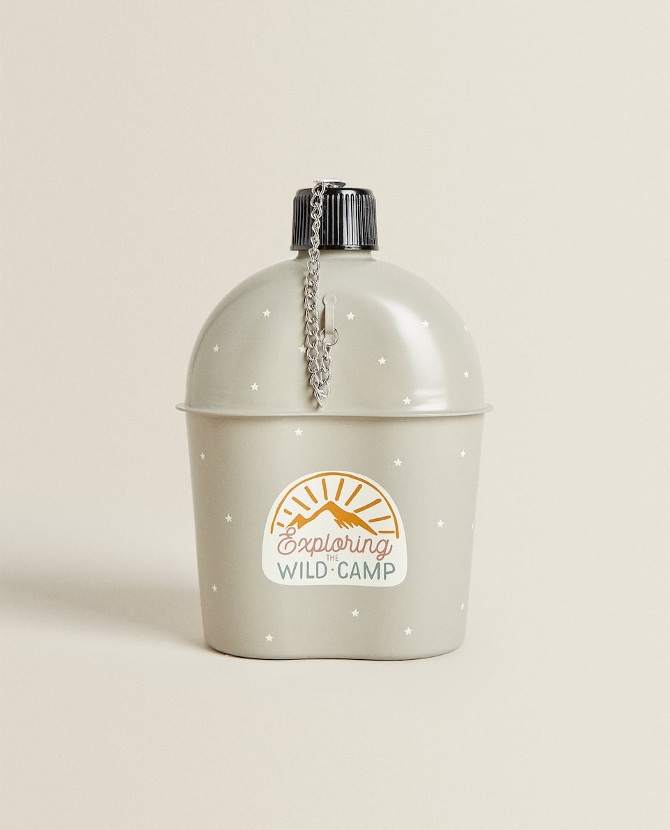 STAINLESS STEEL CAMPING FLASK