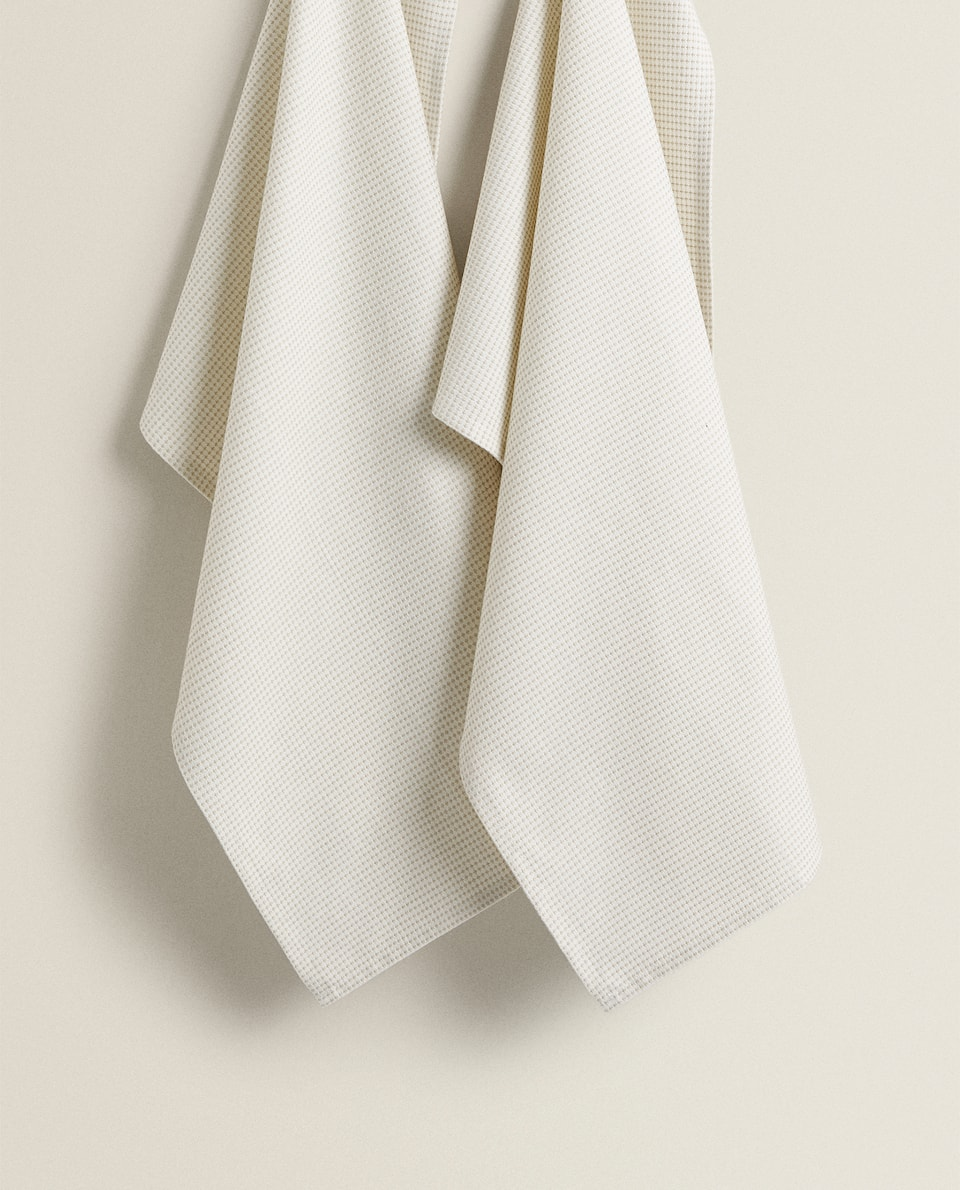 DYED COTTON TEA TOWEL (PACK OF 2)