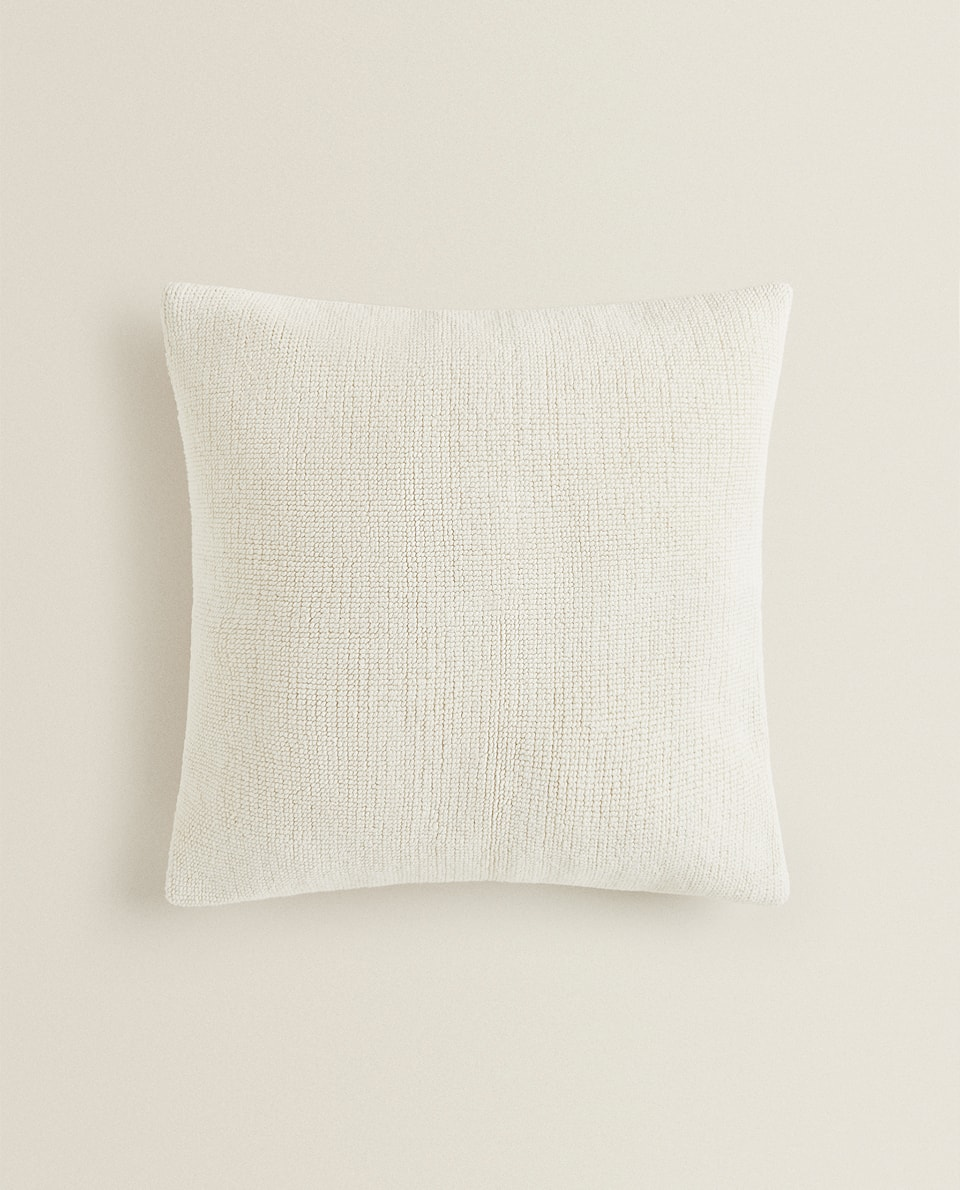 TERRYCLOTH CUSHION COVER