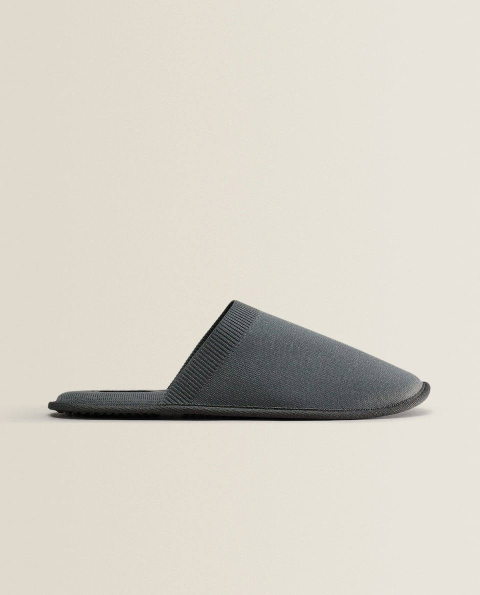 TECHNICAL FABRIC SLIPPERS