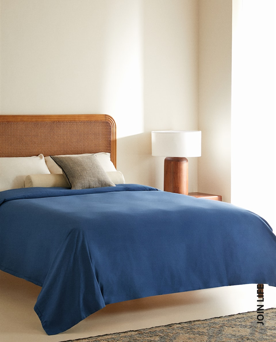 (180 THREAD COUNT) COTTON PERCALE DUVET COVER