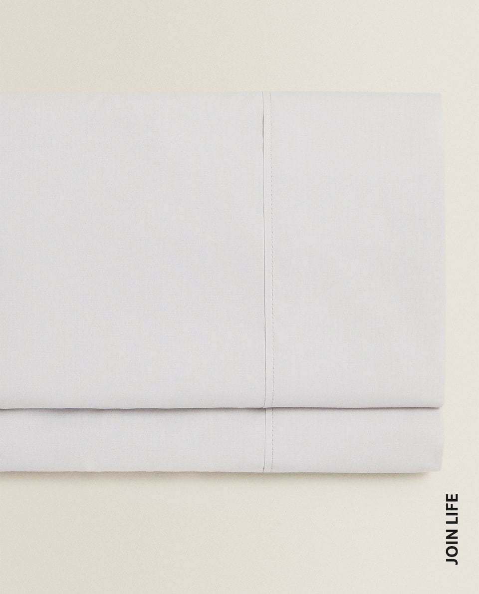 (180 THREAD COUNT) COTTON PERCALE FLAT SHEET