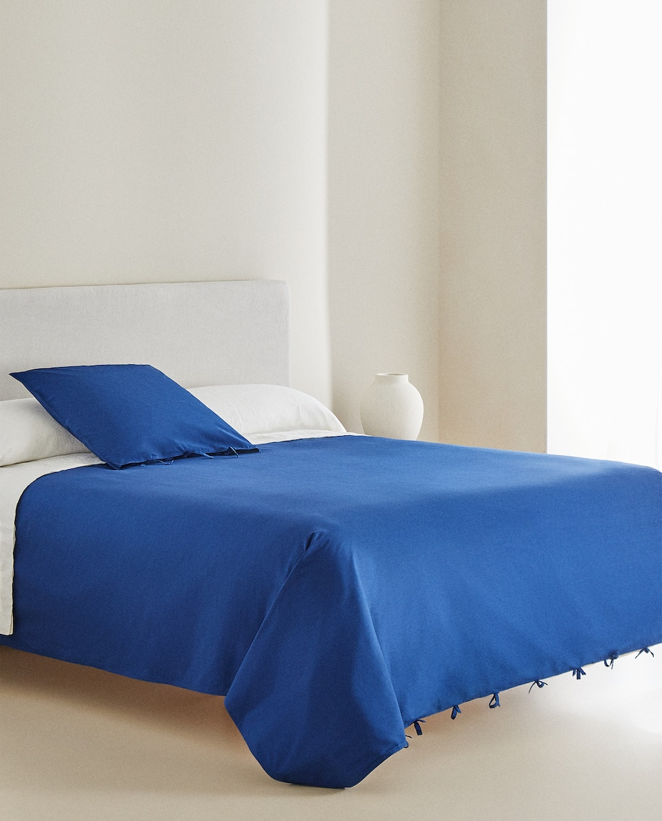 DUVET COVER WITH TIES