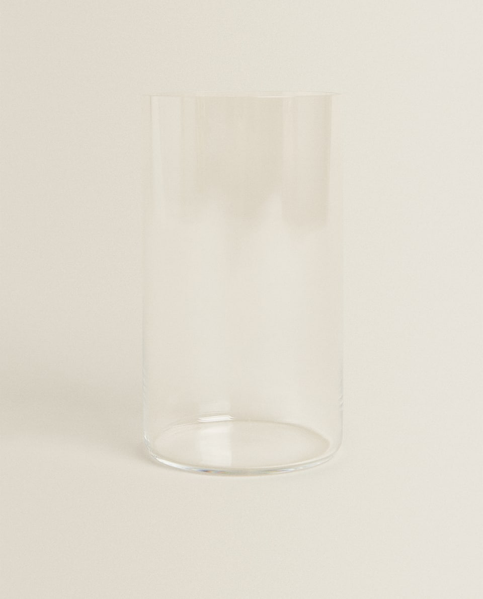 STRAIGHT CRYSTALLINE SOFT DRINK TUMBLER