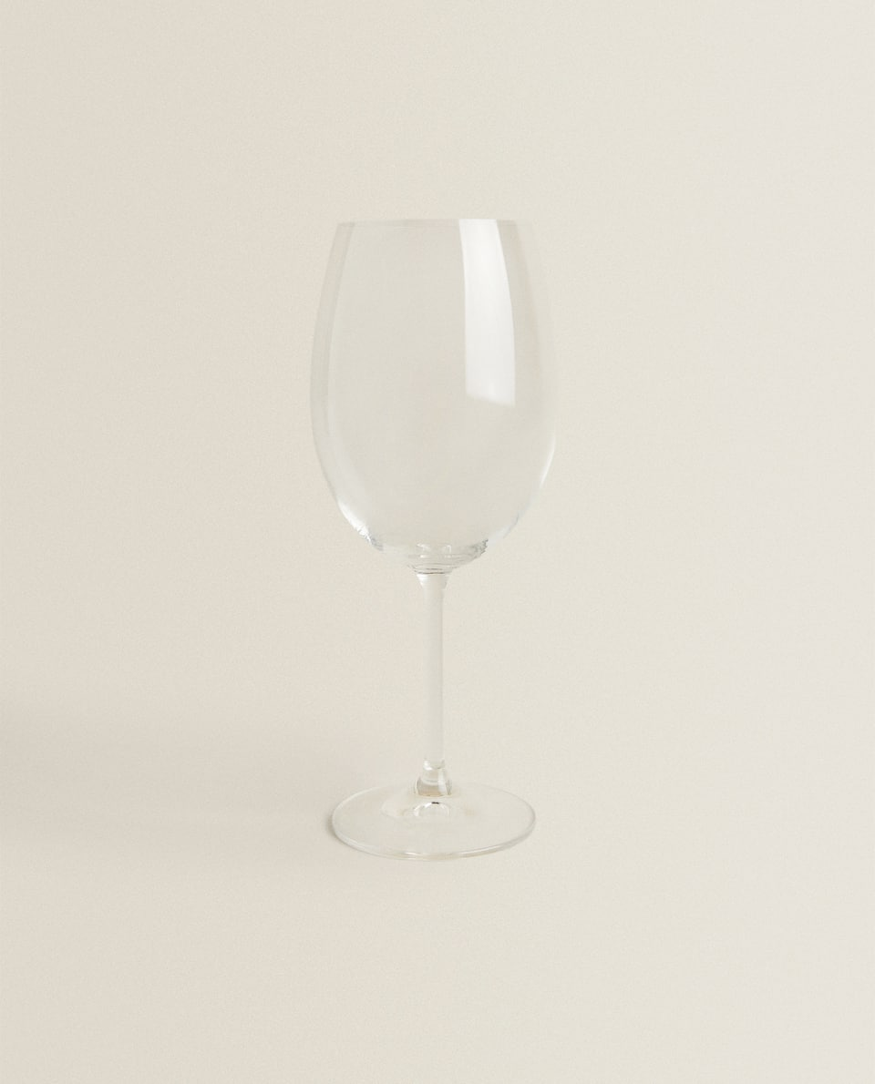 CRYSTALLINE BORDEAUX WINE GLASS