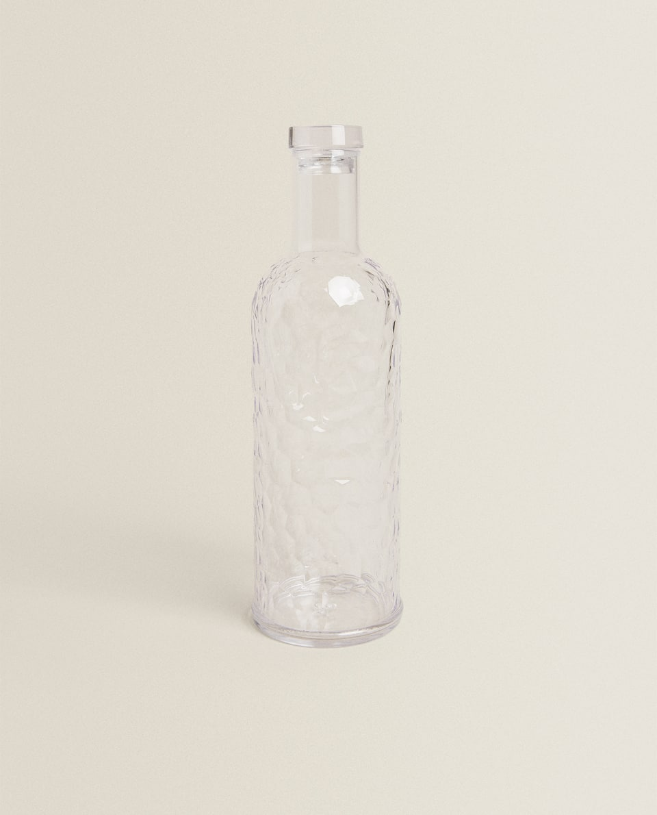 HAMMERED ACRYLIC BOTTLE