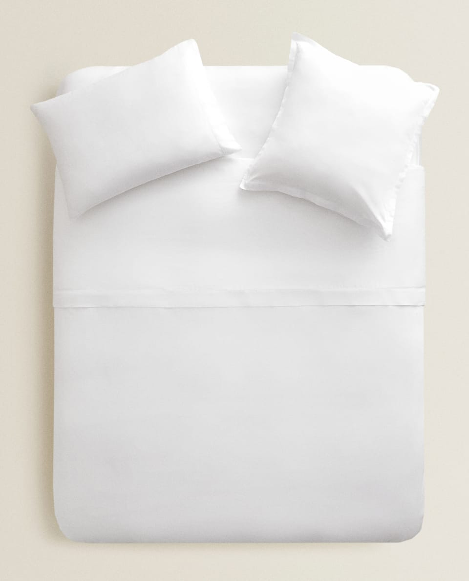 (300 THREAD COUNT) SATEEN DUVET COVER