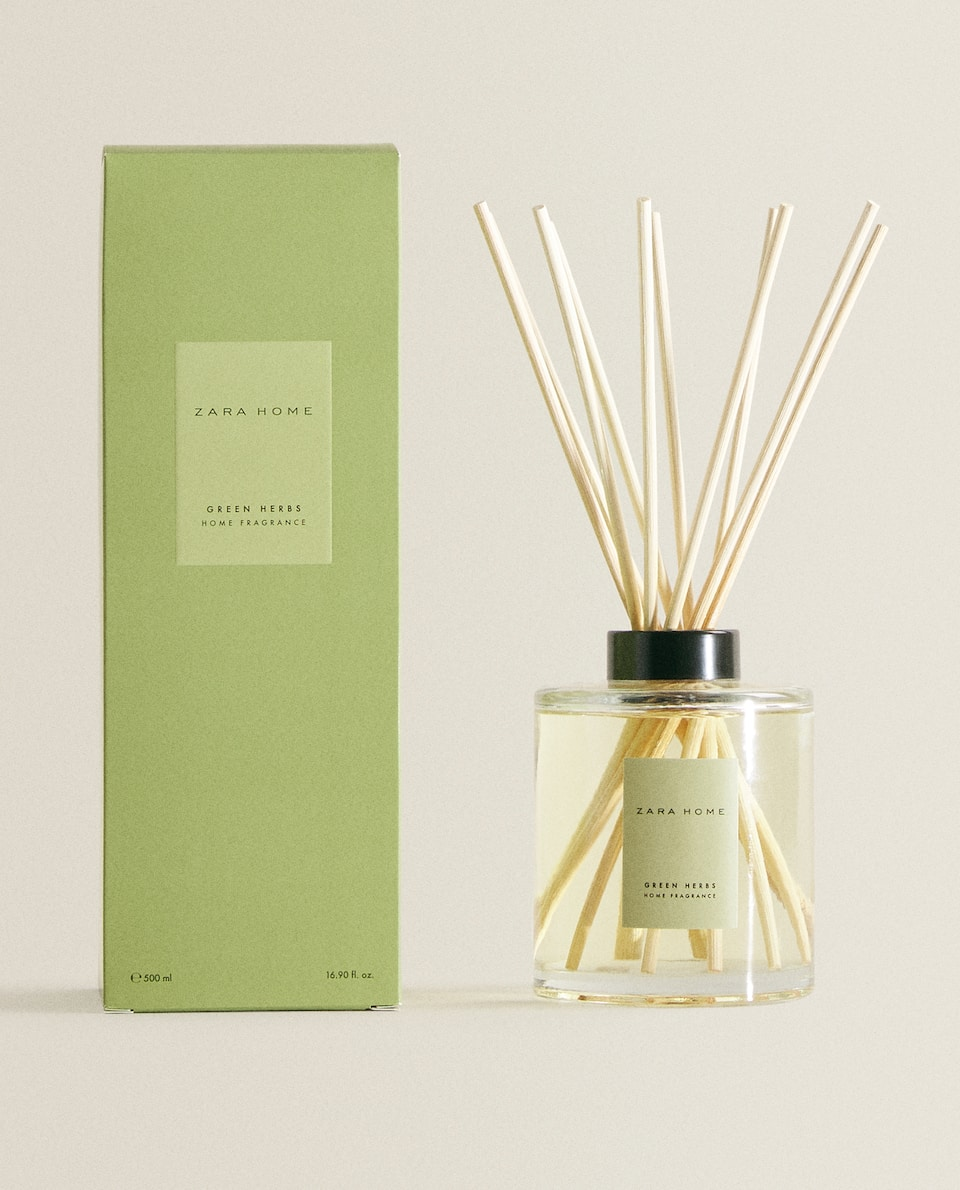 (500 ML) GREEN HERBS REED DIFFUSER