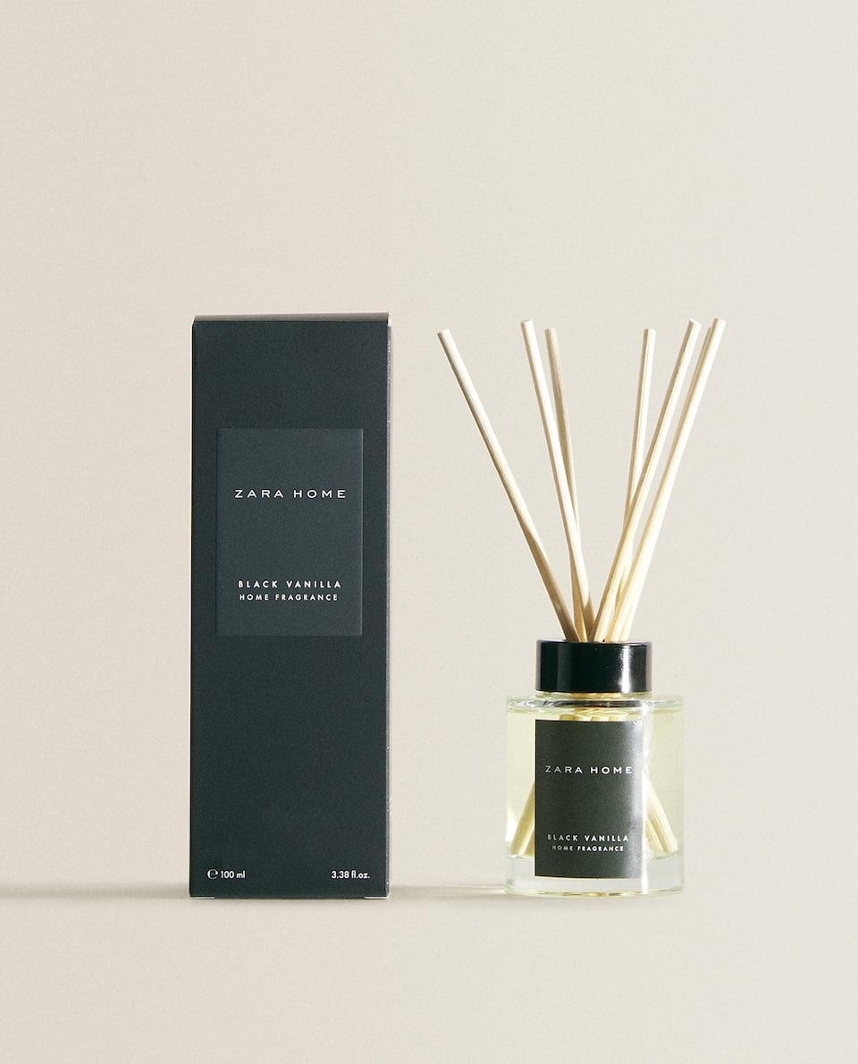 (100 ML) BLACK VANILLA REED DIFFUSER