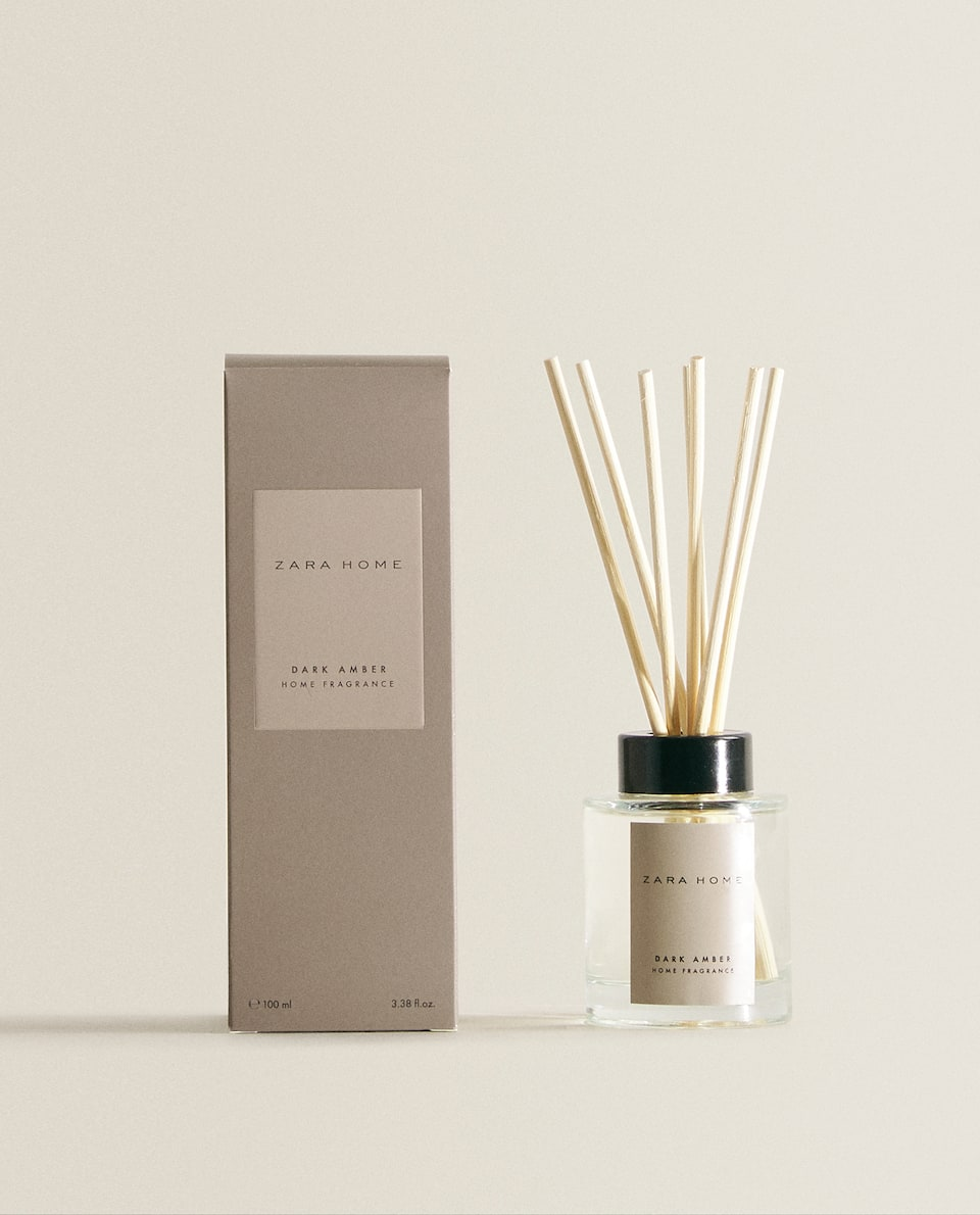 (100 ML) DARK AMBER REED DIFFUSER