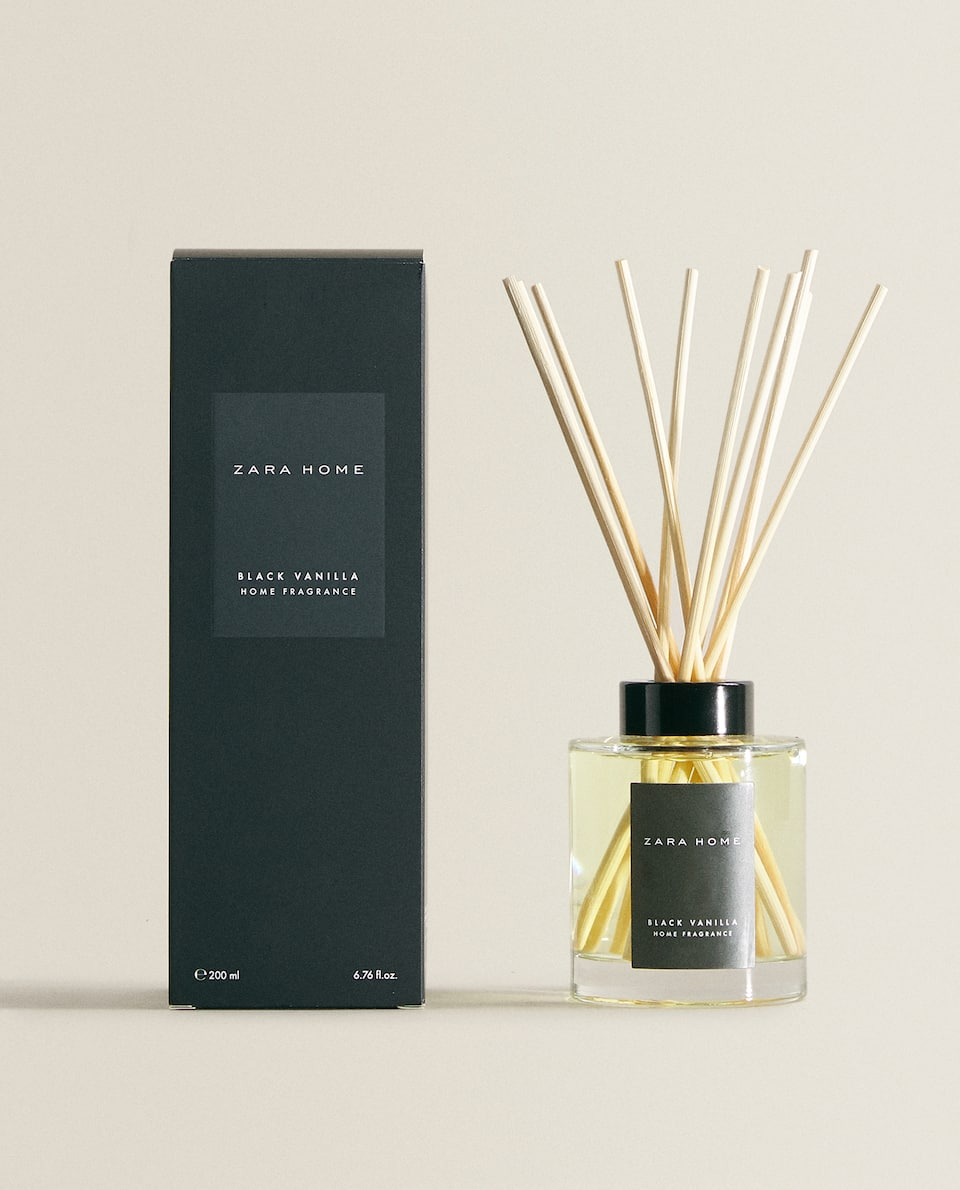 (200 ML) BLACK VANILLA REED DIFFUSER