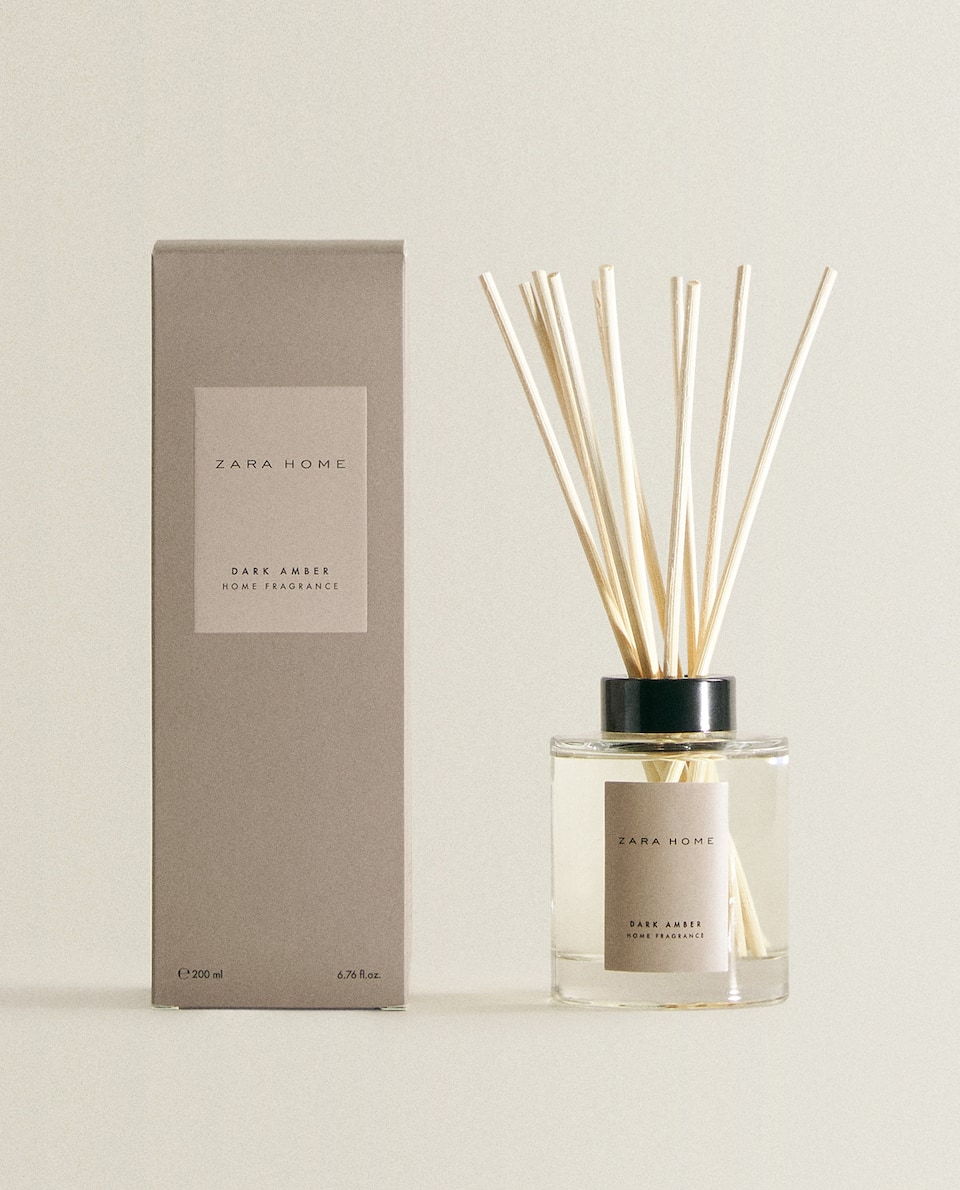 (200 ML) DARK AMBER REED DIFFUSER