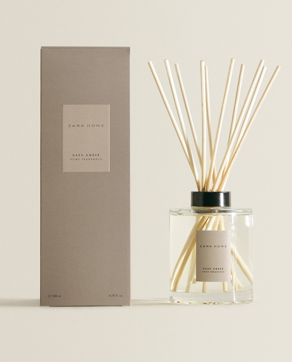 (500 ML) DARK AMBER REED DIFFUSER