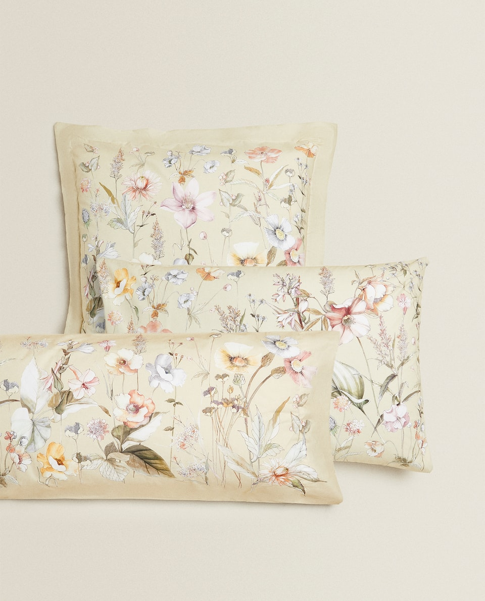 WILDFLOWER PILLOWCASE
