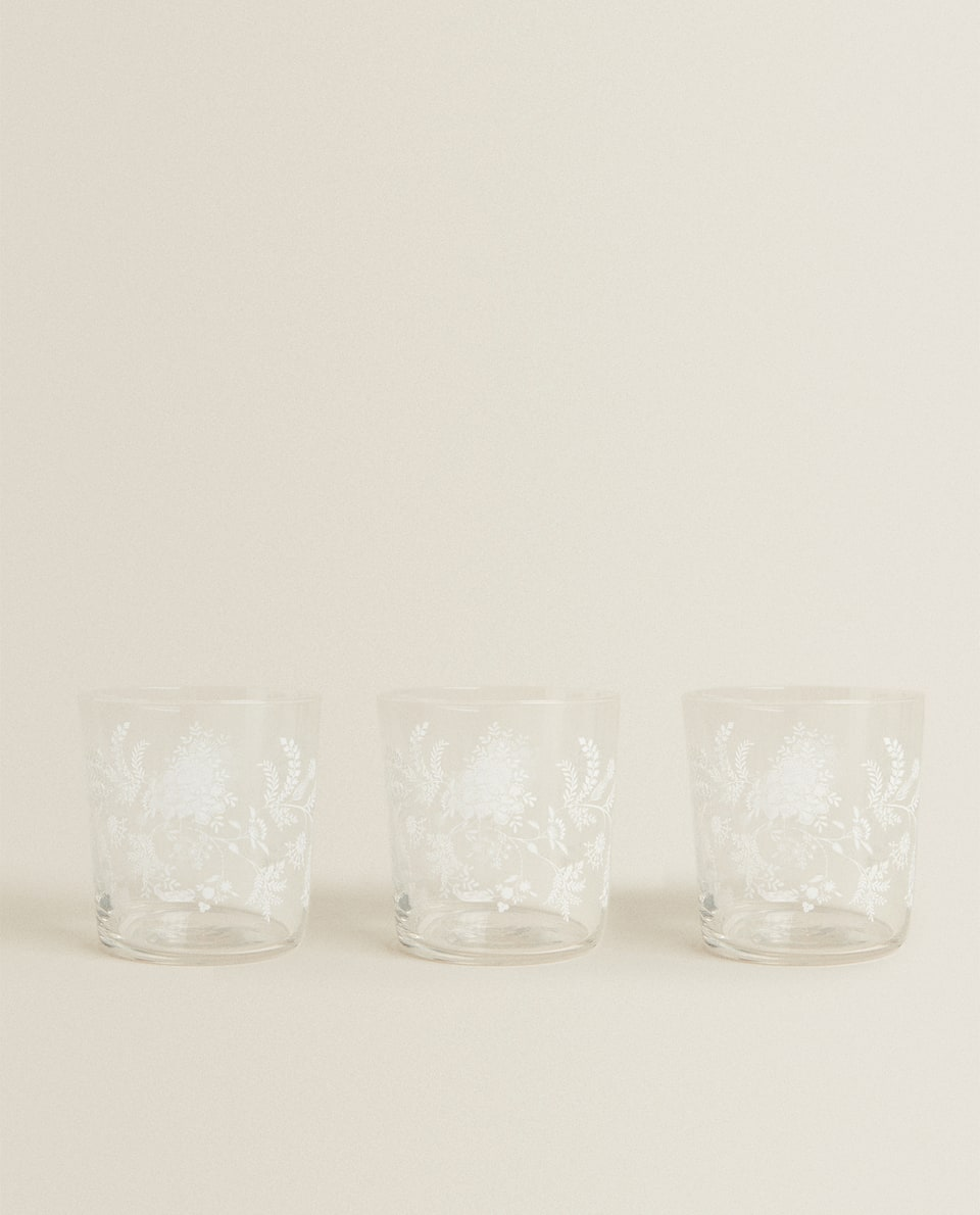 3-PACK OF FERN TRANSFER TUMBLERS