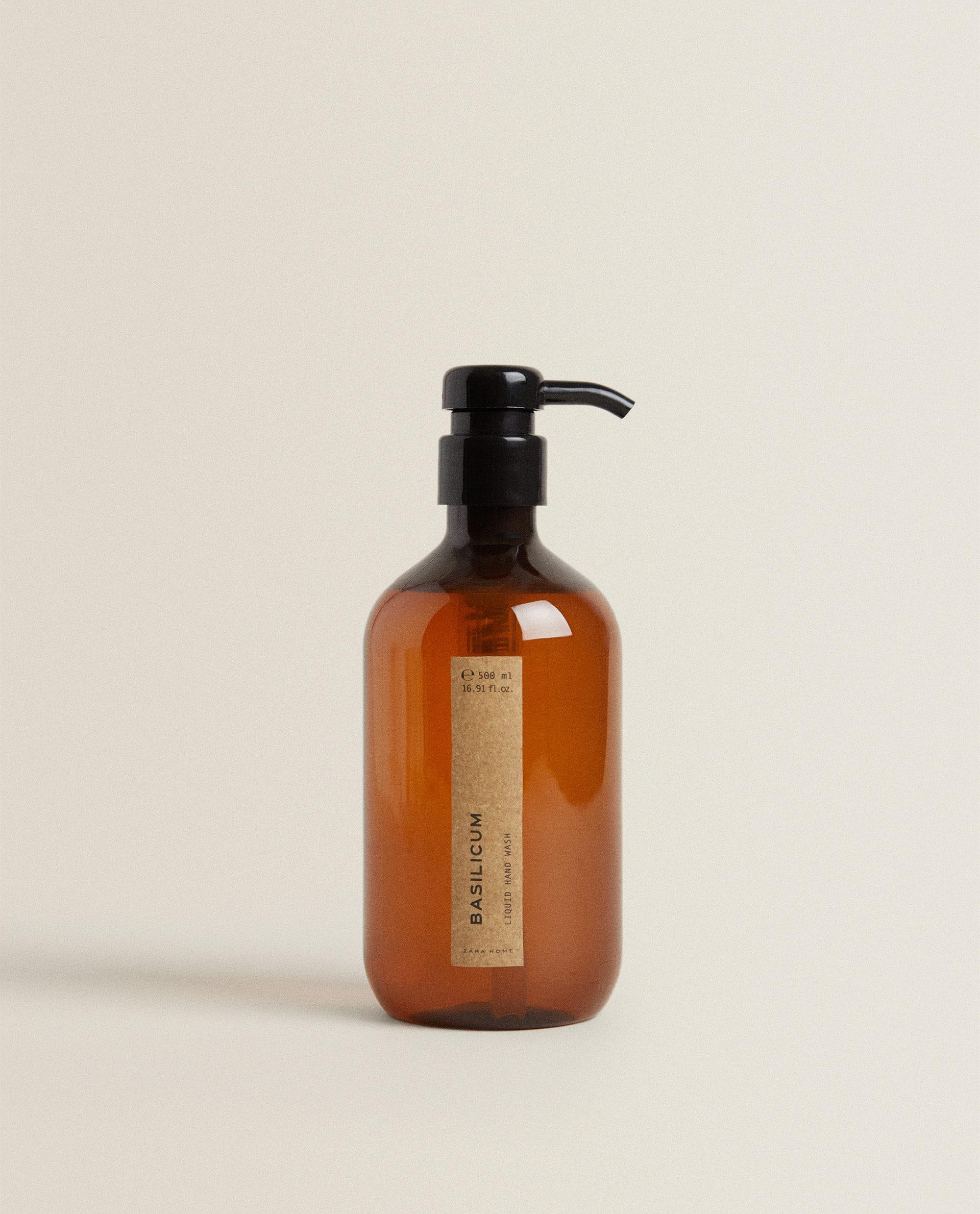 500 ML) BASILICUM LIQUID HAND SOAP - Reed diffusers - PRODUCTS - FRAGRANCES    Zara Home Italia