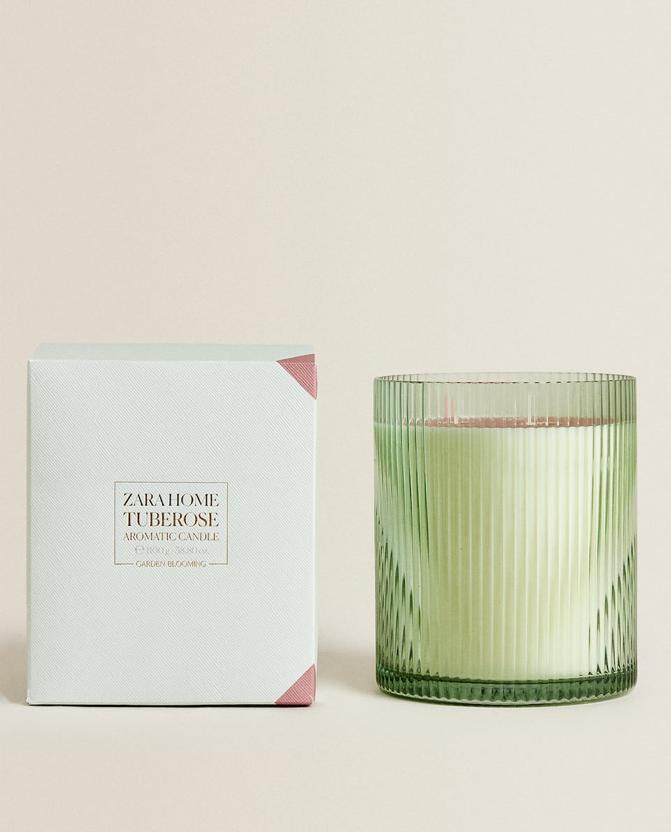(1,100 G) TUBEROSE SCENTED CANDLE