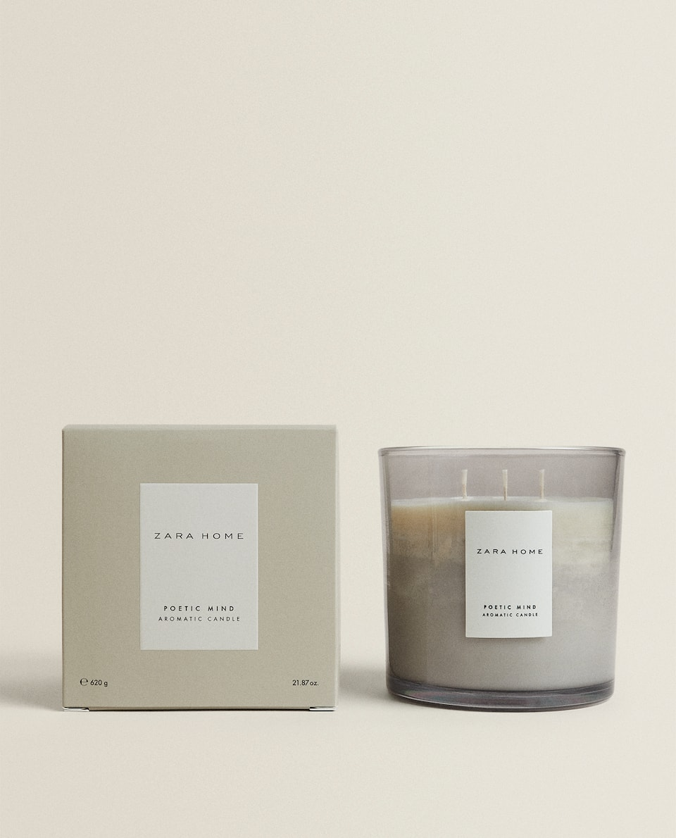 (620 G) POETIC MIND SCENTED CANDLE