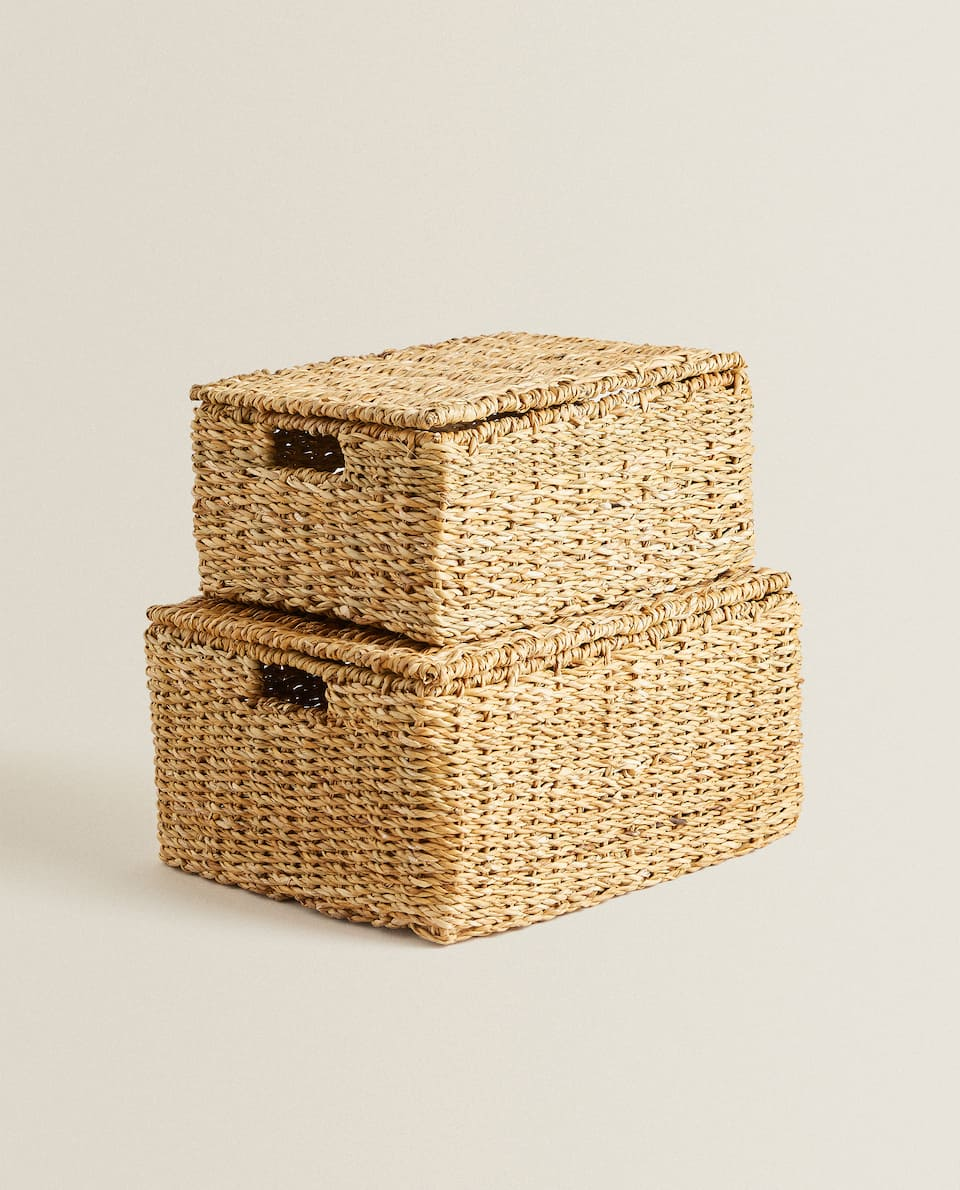 NATURAL FIBRE BASKET