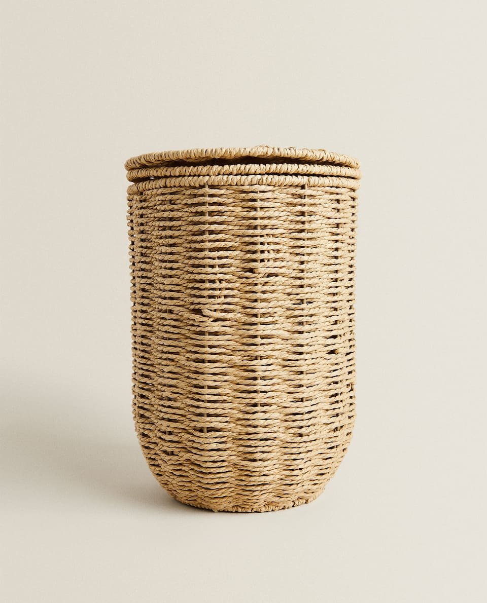 WASTEPAPER BASKET WITH LID