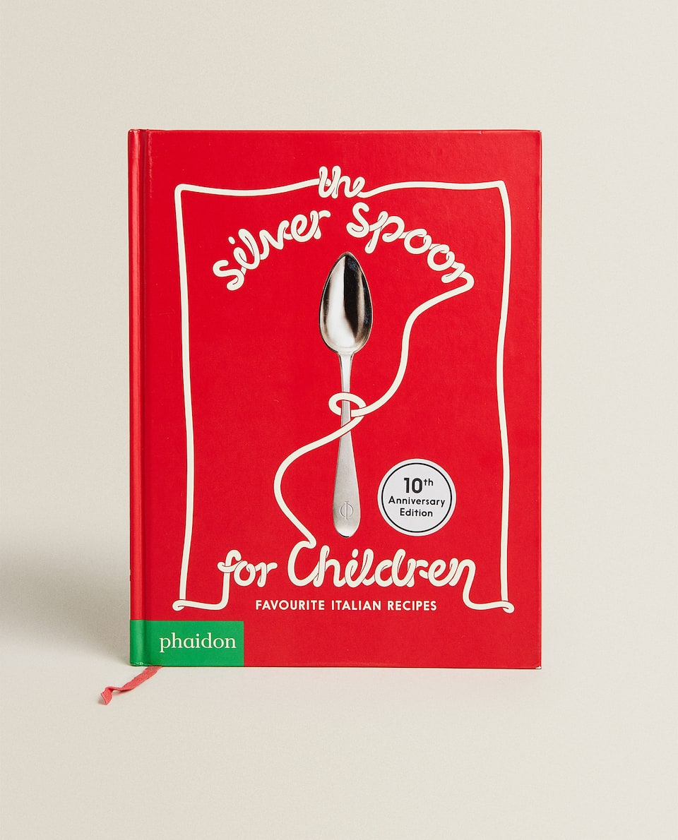 """PHAIDON"" LEIDYKLOS KNYGA ""THE SILVER SPOON FOR CHILDREN"" (ANGLŲ K.)"