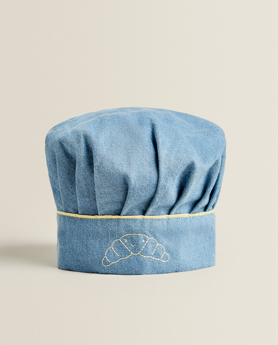 CHILDREN'S DENIM CHEF HAT