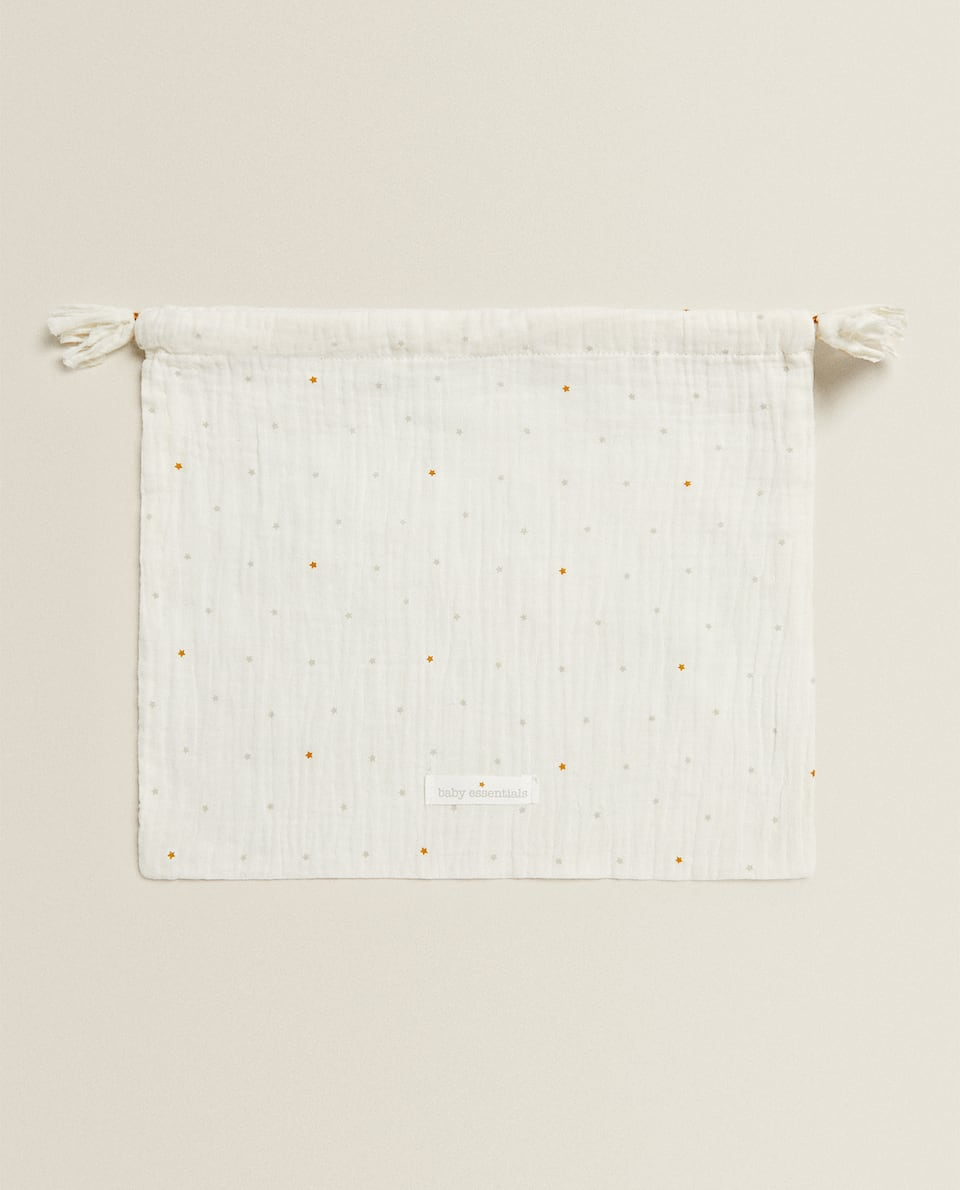 STAR PRINT LAUNDRY BAG