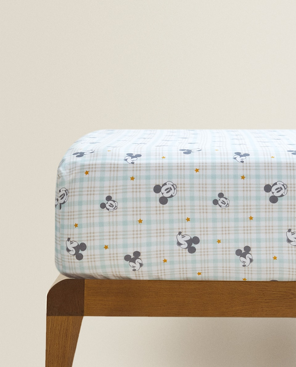MICKEY PRINT FITTED SHEET