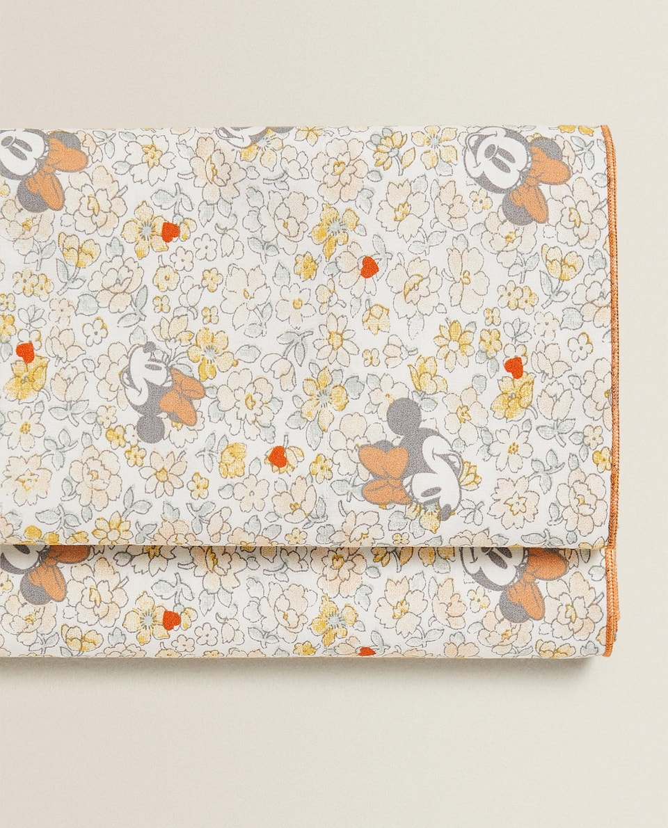 MINNIE PRINT FLAT SHEET