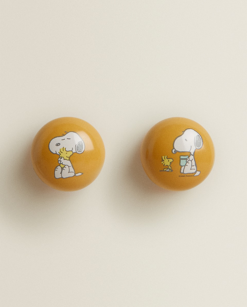 SNOOPY DOOR KNOB (PACK OF 2)