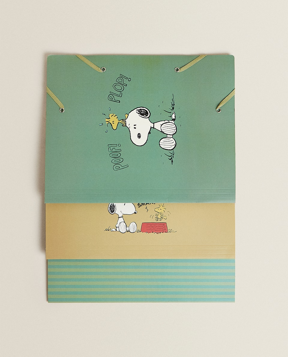 SNOOPY FOLDERS (PACK OF 3)