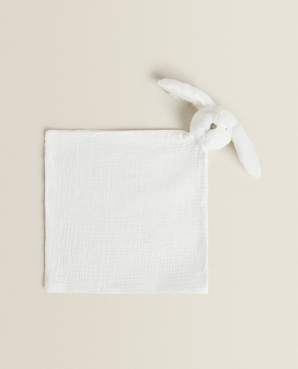 RABBIT BLANKET TOY