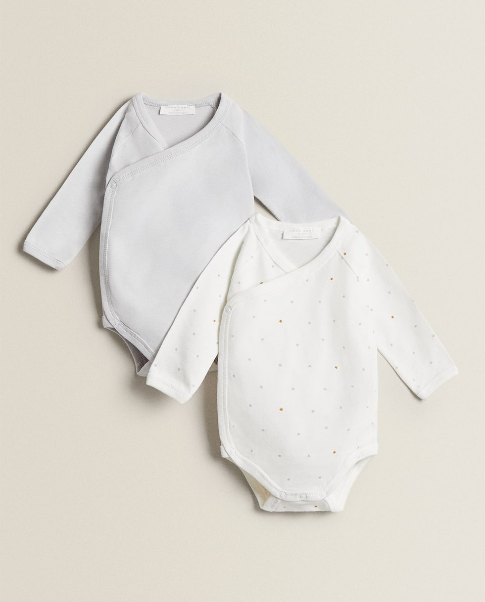 STAR BODYSUITS (PACK OF 2)