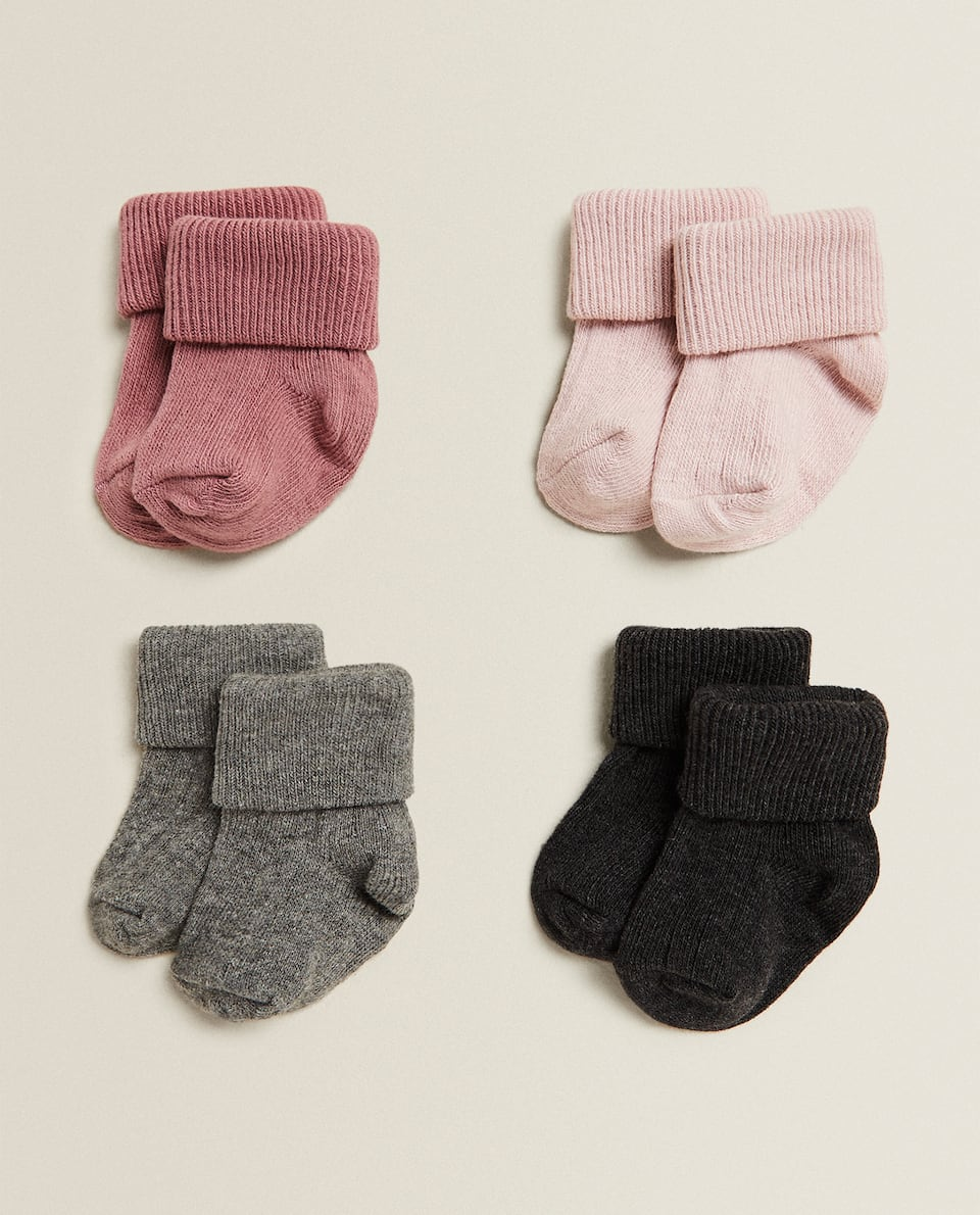 BABY SOCKS (PACK OF 4)
