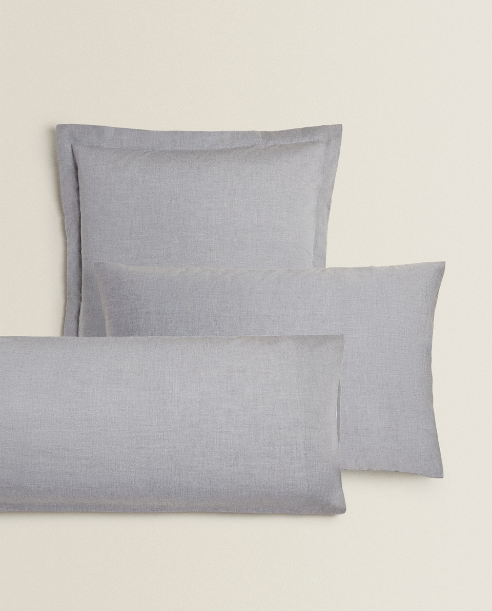 LYOCELL MELANGE PILLOWCASE