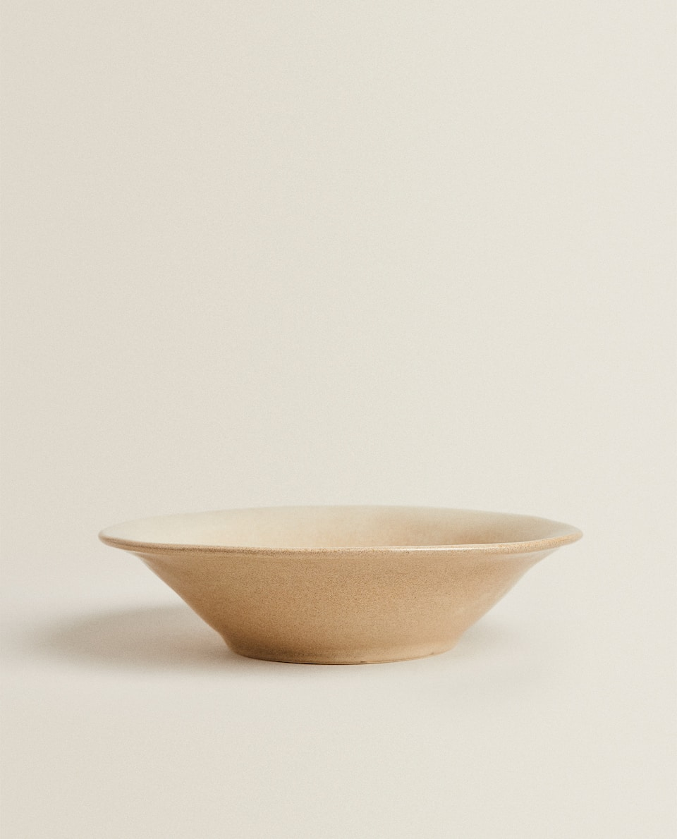 IRREGULAR STONEWARE BOWL