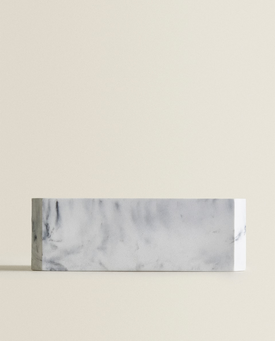 MARBLE-EFFECT TISSUE BOX