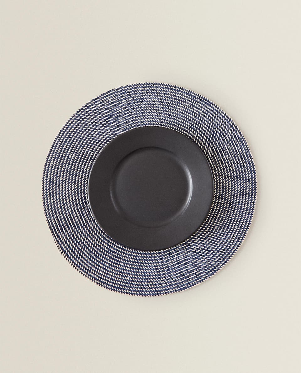 SET DE TABLE ROND PAPIER (LOT DE 2)