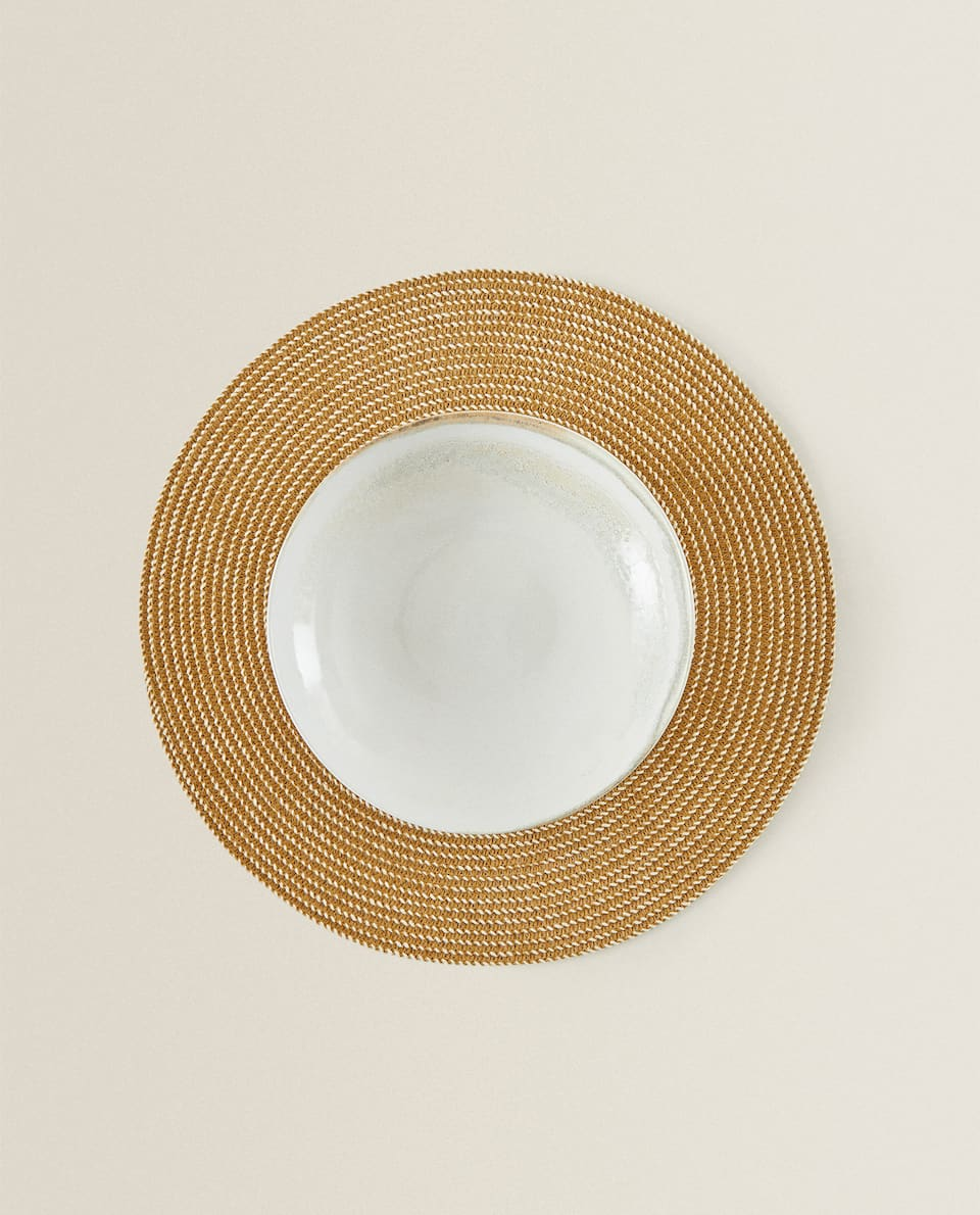 ROUND PAPER PLACEMAT (PACK OF 2)