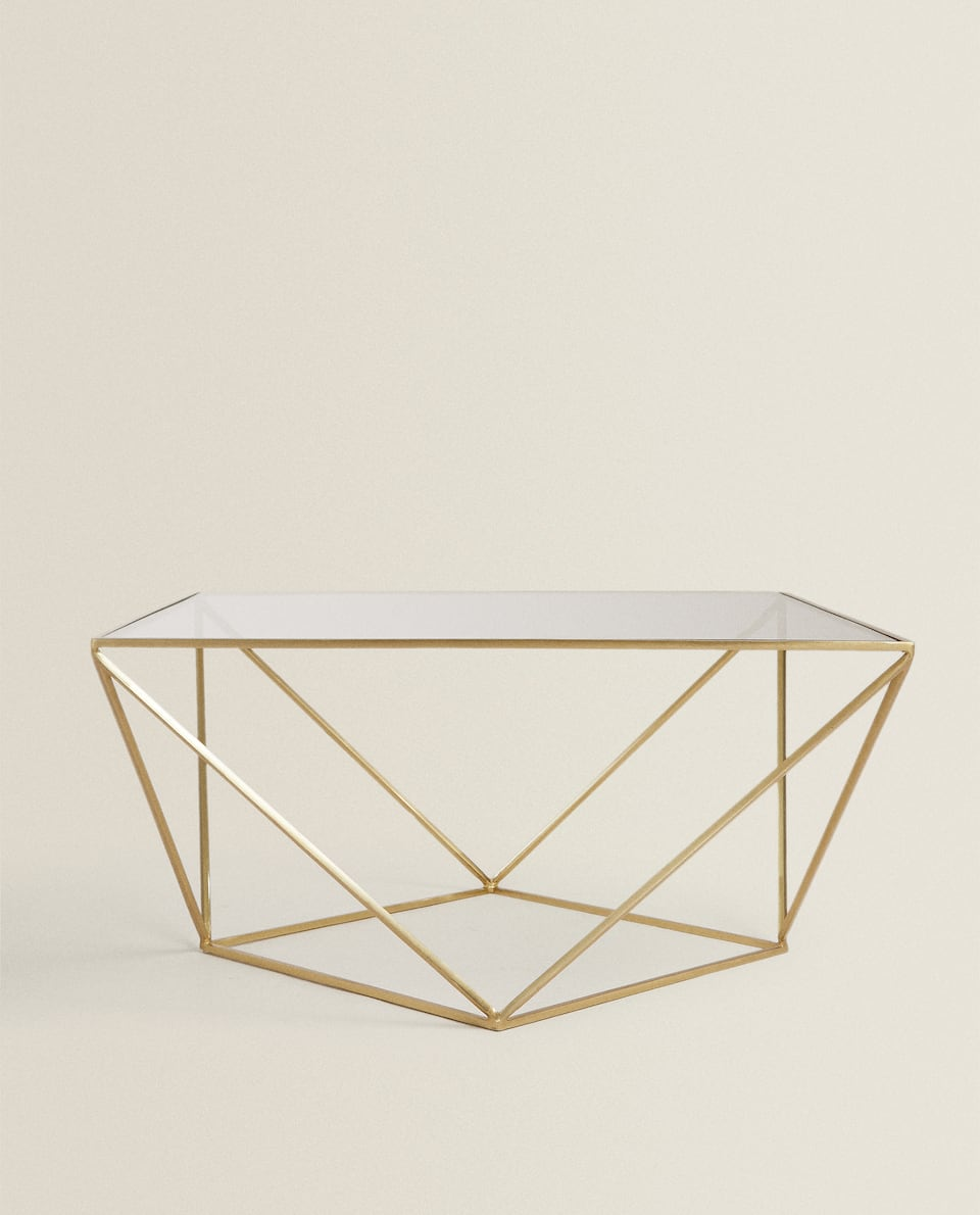 LARGE GEOMETRIC TABLE