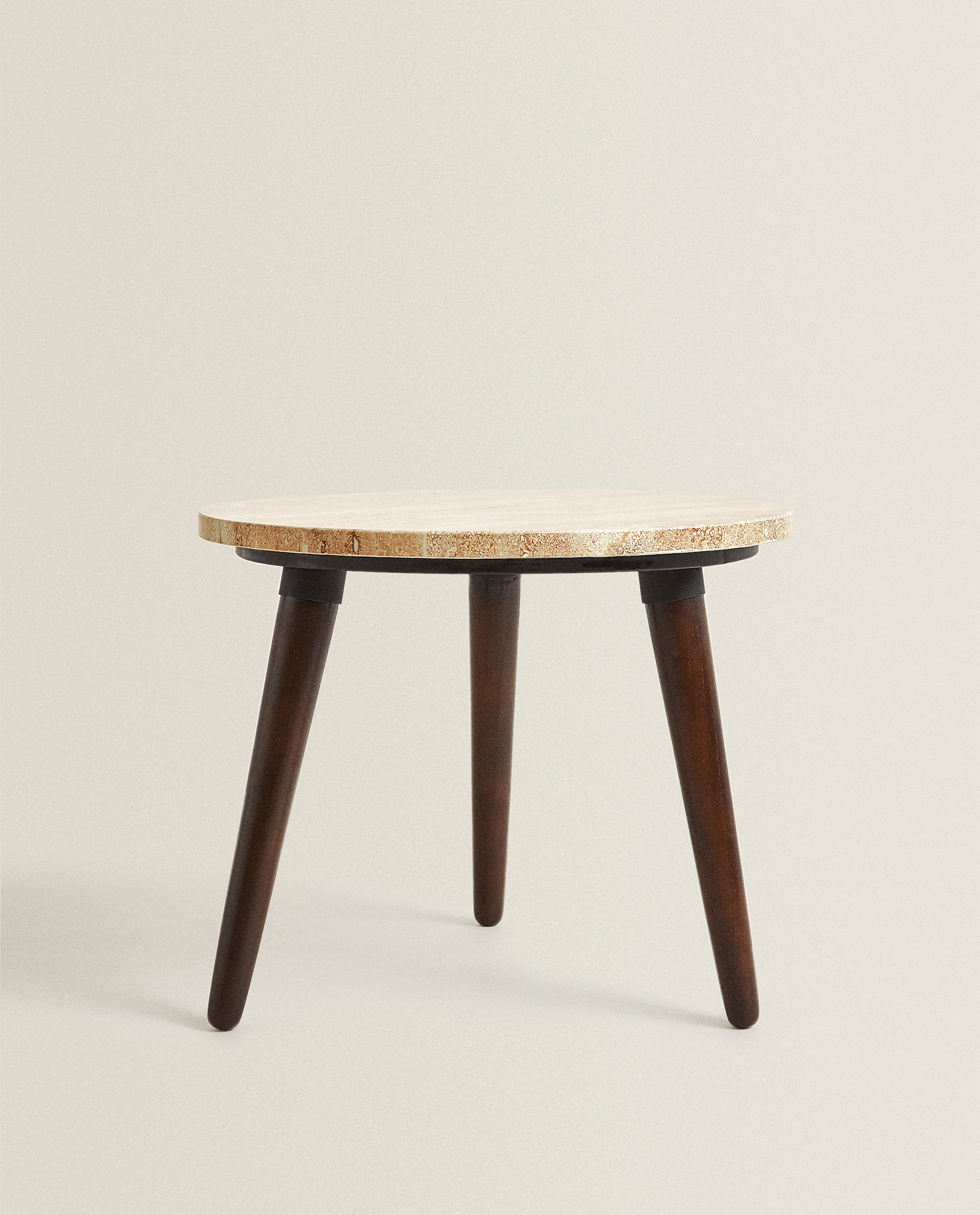 Round Marble Table Furniture Living Room Zara Home Canada