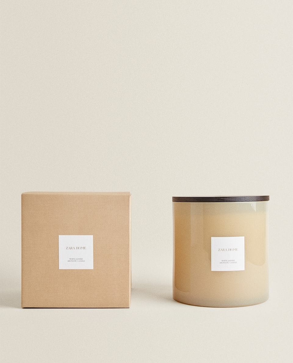 (3.6 KG) WHITE JASMINE SCENTED CANDLE